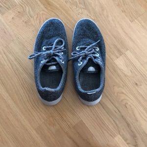 Allbirds, grey, wool sneakers